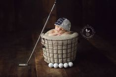 golf theme newborn - client due in may wants golf theme