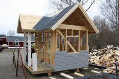 Påbörjar lekstugebygge våren 2013