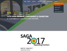 DYNAMIC WEBSITE DESIGN >> SAGA Conference Website