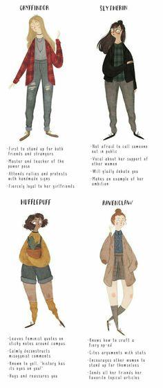 Feminism a la Houses of Hogwarts, Sisterhood!