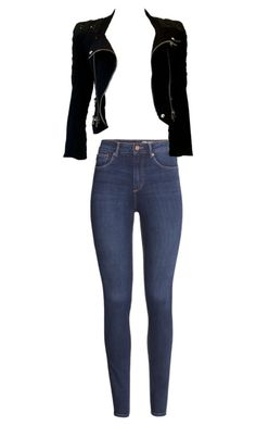 """""""Test"""" by jianing ❤ liked on Polyvore featuring H&M and Balmain"""