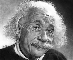 Nestor Canavarro est un Illustrateur Argentin de Buenos Aires, qui s'amuse à Dessiner les Stars aux Crayons de Couleurs. Les Résultats sont Bluffants de Réalisme. Einstein