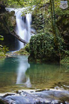 """waterfall """"La Vaioaga"""""""
