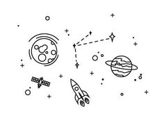 space drawings drawing sketches quest easy doodles spaceship dribbble doodle illustration cool simple tattoo tattoos pencil spaceships designs spaces outer