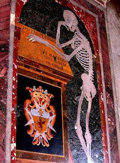 Tombstone St. John's Co Cathedral Valletta Malta