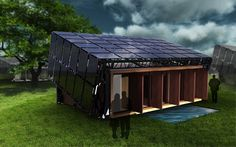 Build a Completely Off-the-Grid, Self-Sustaining Home ~ With the problems resulting from climate change, a trend has slowly been emerging to go back to nature and live in a totally self-sustaining home