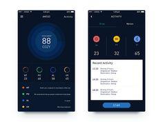 Akeso UI design