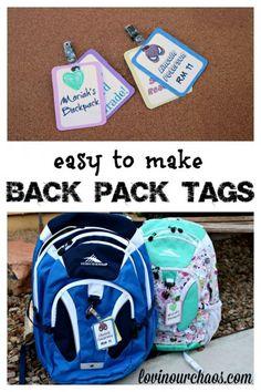 Easy Back Pack ID La