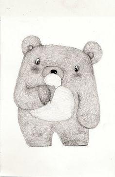 old teddy bears illu - Recherche Google