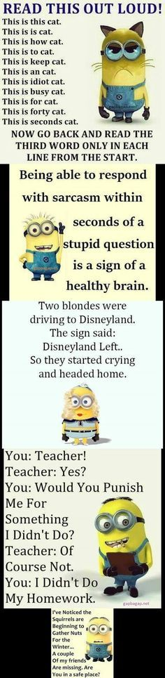 Top 5 #Funny #Minion #Quotes