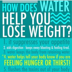 More reasons to drink WATER!!!!!!!!!!!!!!!
