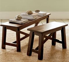 Rustic Bench | Pottery Barn