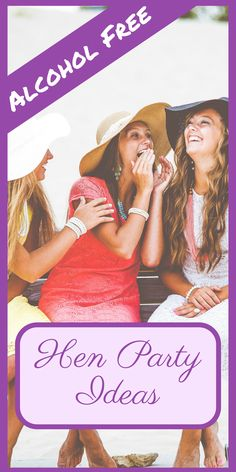 Alcohol free hen party ideas perfect for the non drinker or pregnant bride! Whether you want a fun and exciting, unique or relaxing hen party, you're bound to find something here!