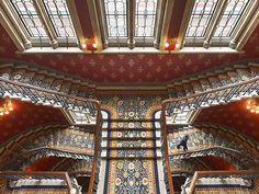 St. Pancras stairway