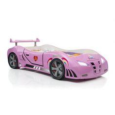 PINK INFINITI RACECAR BED