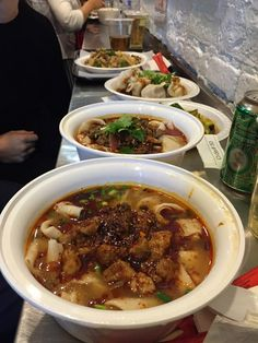 Noodles. Xian Famous Foods. NYC.