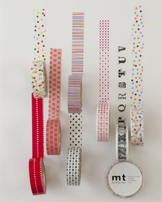 LoVe japanese tape!  I have several of the styles shown here. I probably should look on Pinterest for a good way to organize it.