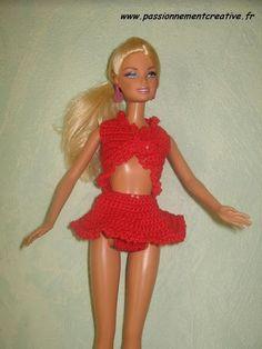 Salsa de Sandrineh21 Crochet, Blog, Style, Fashion, Sauces, Barbie Dolls, Tricot, Outfits, Color