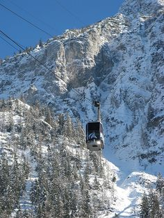 Rauschberg Cable Car, Ruhpolding, Bavaria, Germany.   I waited on solid ground while husband went up.