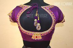 bridal wedding saree blouse designs