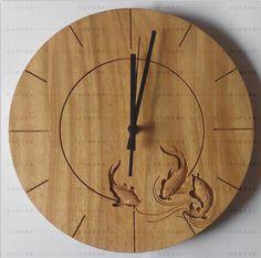 carving-fish-wooden-clock-wall-clock.png (655×649)