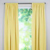 Cute Half Panel Nursery Curtains