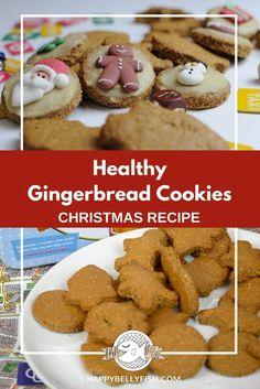 Gingerbread Man: Healthy Recipe | Healthy Gingerbread Cookies Recipe