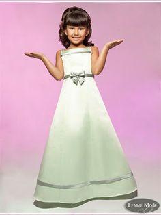 362d43531 A-Line Bateau Natural Waist Long Satin Spaghetti Straps White Flower Girl  Dresses - Flower Girl Dresses - Wedding Party Dresses