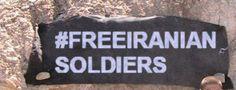 #freeiraniansoldeiers