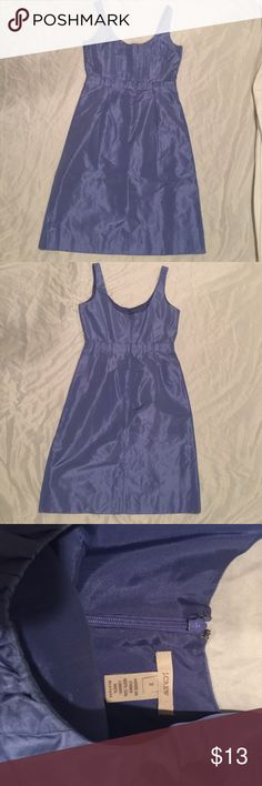 """J Crew Dress Elegant J Crew Dress. Size 2. Approximately 32"""" long. 100% silk lining and 100% acetate. In perfect conditions J. Crew Dresses Midi"""