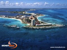 Cancun is the quintessential beach destination in Mexico, with its 22 kilometers of pristine beaches and the most modern tourist infrastructure of the country, nightclubs, shopping malls and good weather all year round. It is a paradise that should be visited at least once in a lifetime. When in Cancun, look for businesses affiliated to Moneyback for a tax-refund for foreign tourists. #taxfreeshopping #moneyback  #taxrefund #travelmexico