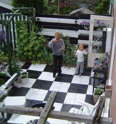 betonnen terras schilderen - Google zoeken