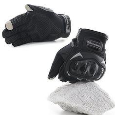 COFIT Gants de Moto, Gants à Écran Tactile Plein-doigt pour la Course de Moto, VTT, Escalade, Chasse, Randonnée et Autres Sports de Plein…