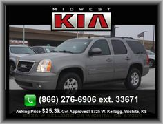 2009 GMC Yukon SLT SUV  Multi-Link Rear Suspension, Polished Aluminum Rims, Regular Front Stabilizer Bar, 2Nd And 3Rd Row Head Airbags, Leather Seat Upholstery, Rear Spoiler: Lip, Cruise Controls On Steering Wheel, Instrumentation: Low Fuel Level, Cupholders: