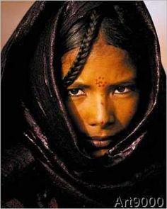 Jean-Luc Manaud - Junge Tuareg-Frau, Niger