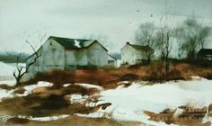 Philip Duane Jamison, Jr. (Farm in Winter)
