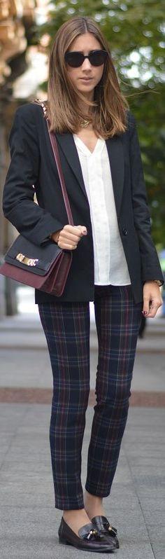 #tartan #pants by Silvia's closet