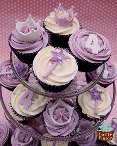 Purple Princess Cupcakes | Flickr - Photo Sharing!
