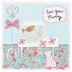 Buy Metropolis World Wide Love You Mummy Mother's Day Card Online at johnlewis.com