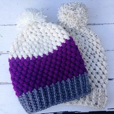 I've had so much interest in my previous post Puff Stitch Toddler Beanie . So many people have asked me to write up an adult version so her...