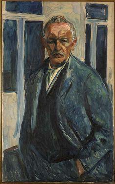 Self-Portait, Edvard Munch