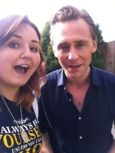 Tom Hiddleston in Ireland with fans
