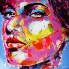 Peintre portraitiste contemporain Berto Portraits, Les Oeuvres, Art Boards, Gallery, Artwork, Artist Art, Painting, Twitter, Abstract Backgrounds