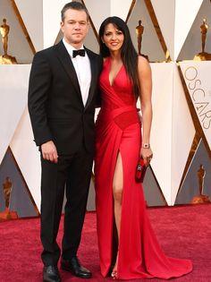 #MattDamon regreso de marte para asistir a la Alfombra Roja de los #Oscars2016