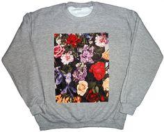 Cool Try/Ryan De La Hoz     Arrangement II Crewneck Sweatshirt