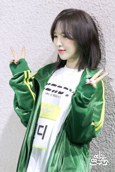 Seulgi, Korean Short Hair, Wendy Red Velvet, Role Models, Kpop Girls, South Korean Girls, Short Hair Styles, Hair Cuts, Beautiful