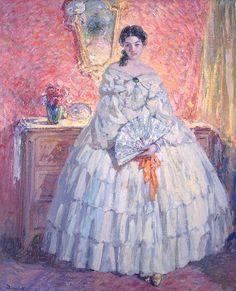 Ulisse Caputo - Ritratto di Ninette