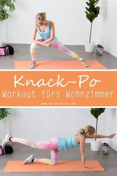 16 butt exercises that change your life: The Knackpo Workout - Übungen - health & fitness Fitness Workouts, Yoga Fitness, Butt Workout, Physical Fitness, At Home Workouts, Fitness Motivation, Health Fitness, Fitness Inspiration, Fat Burning Workout