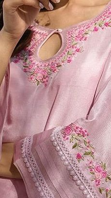 Simple Pakistani Dresses, Pakistani Fashion Casual, Indian Fashion Dresses, Pakistani Dress Design, Sleeves Designs For Dresses, Dress Neck Designs, Stylish Dresses For Girls, Stylish Dress Designs, Kurti Embroidery Design