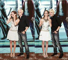 Tom Felton Draco Malfoy And Emma Watson Hermione Granger In The Half Blood Prince I Ship Them